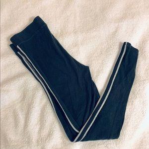 Black VS cotton leggings